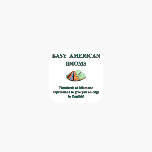 Easy American Idioms on the App Store