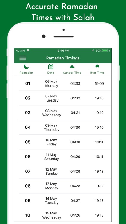 Muslim Prayer Times & Qibla screenshot-3
