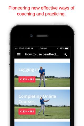 Leadbetter Golf University - náhled