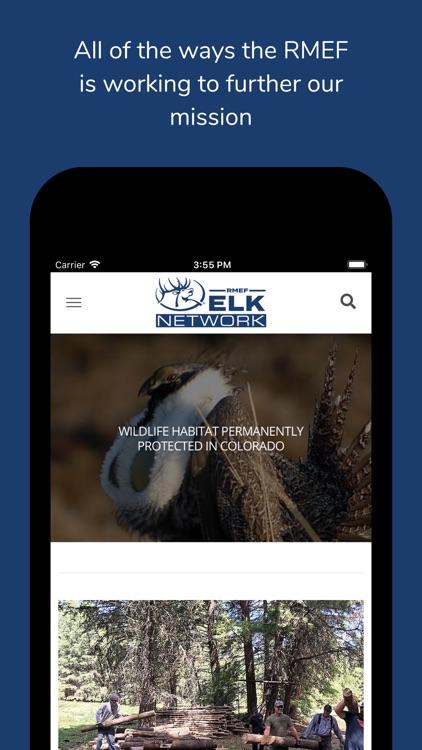 RMEF Elk Network screenshot-4