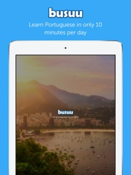Learn Portuguese with Busuu ipad images