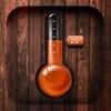 部屋の温度計-最新の天候状態
