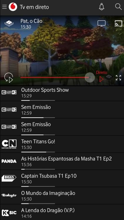 Tv Vodafone screenshot-4