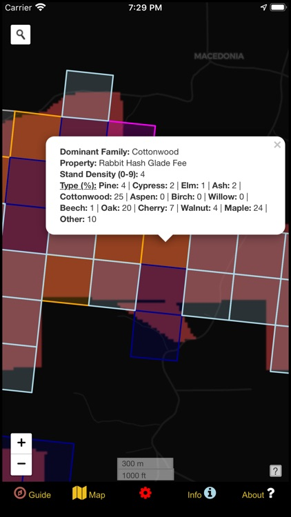 Indiana Mushroom Forager Map!