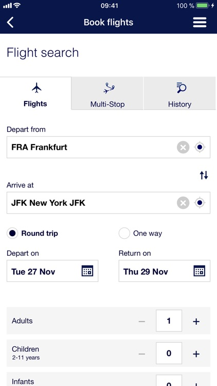 Lufthansa screenshot-2