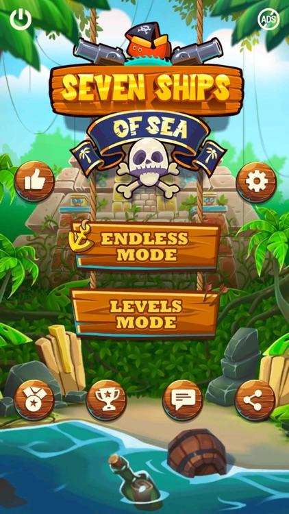 Seven Ships Battle: Pirate Sea