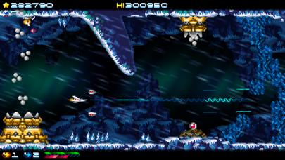 Screenshot from Super Hydorah