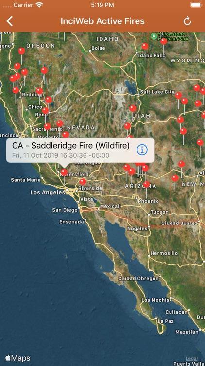Wildfire Info screenshot-6