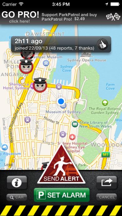 ParkPatrol: Parking officer alerts screenshot