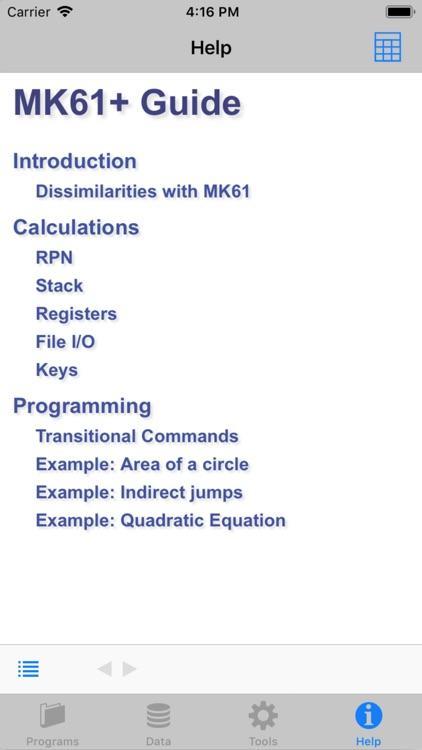 MK61+lite screenshot-3