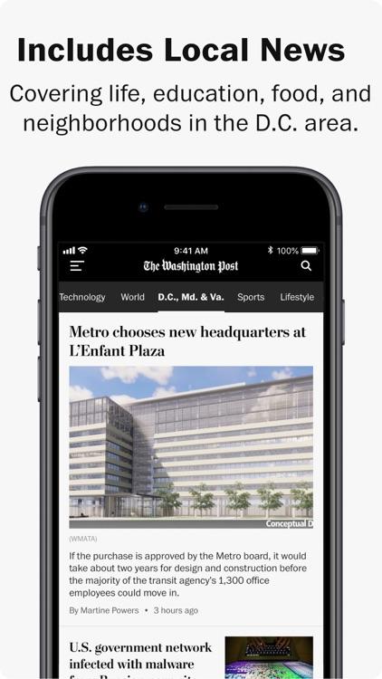 Washington Post screenshot-4