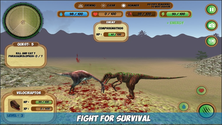 Compsognathus Simulator screenshot-0