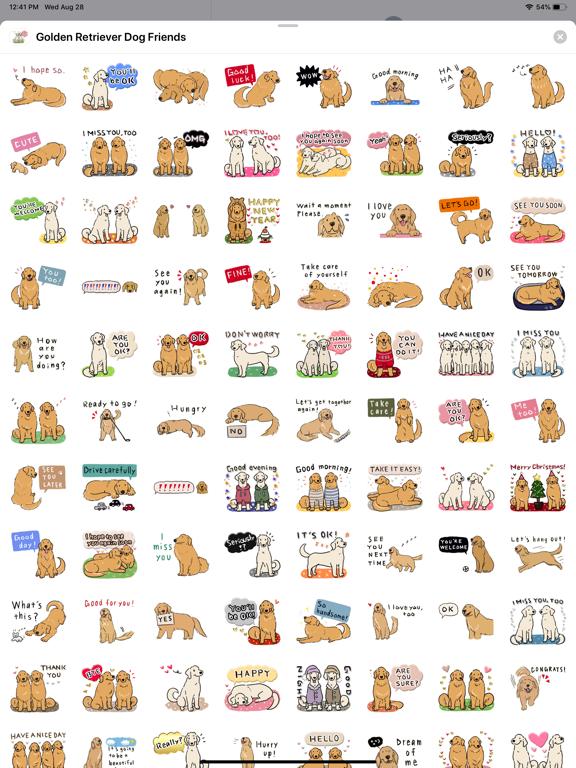 Golden Retriever Dog Friends screenshot 8