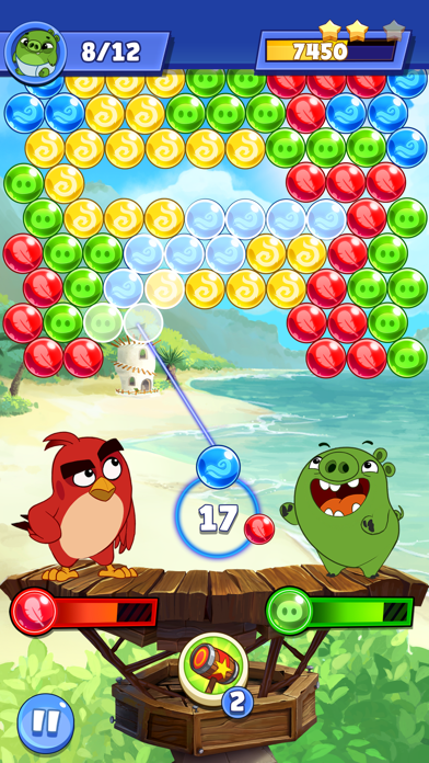 Angry Birds POP 2 screenshot 6