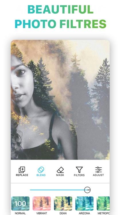 Pic Merge Photo Blender Editor screenshot-3