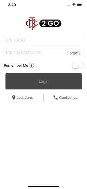 TCB 2Go on the App Store