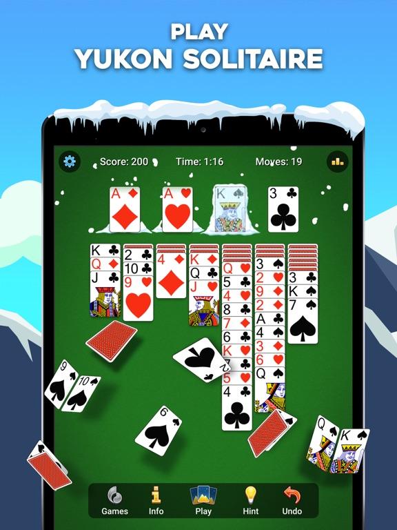 Yukon Russian – Solitaire Game screenshot 1