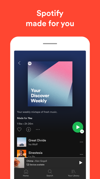 Spotify New Music and podcasts screenshot four
