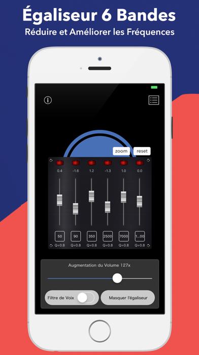 Screenshot #2 pour Hear Boost Enregistreur Boosté