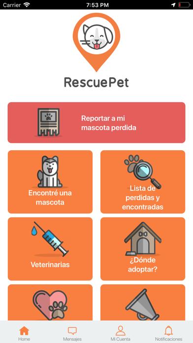 Screenshot #2 pour Rescue Pet App