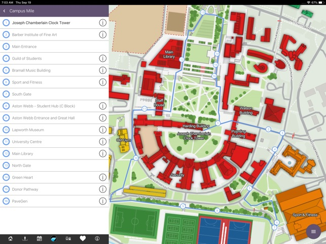 Uob Campus Map On The App Store