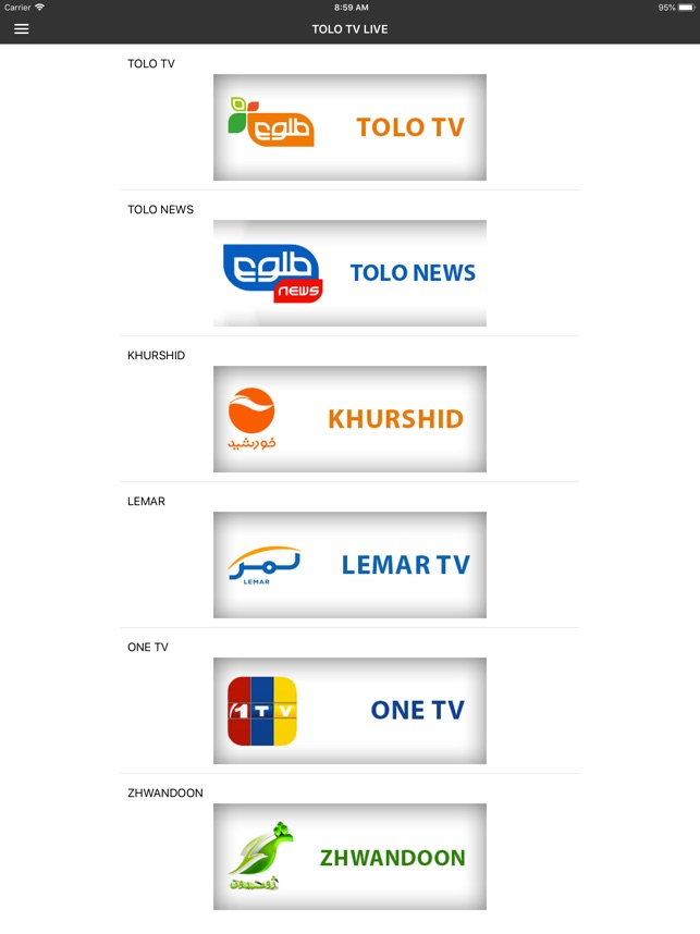 TOLO TV LIVE on the App Store