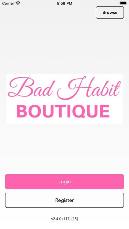 Shop Bad Habit