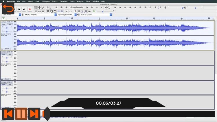 Audacity Video Manual By AV