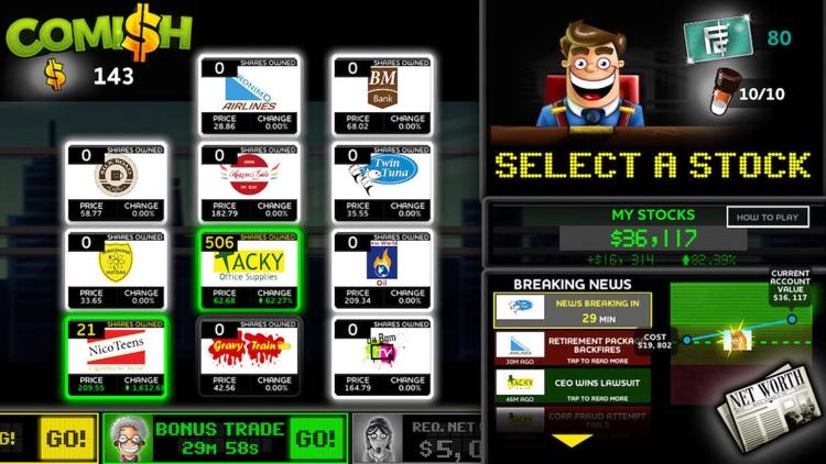 Comish: Stock Market Simulator screenshot-4
