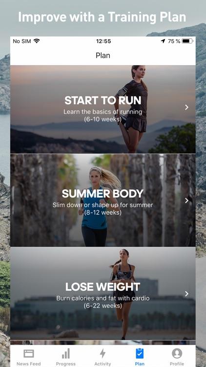 Runtastic Fitness Running App screenshot-7