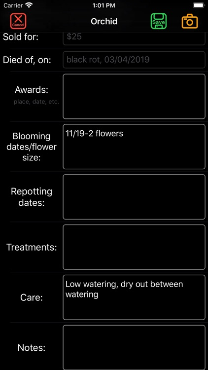 Orchid Catalog screenshot-7