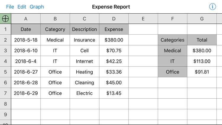 Utility Spreadsheet screenshot-4