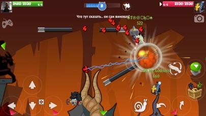 Скриншот №2 к Wormix Онлайн ШутерСтрелялки