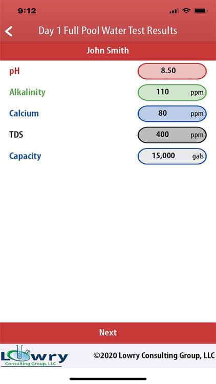 Borate Pool StartUp Calculator