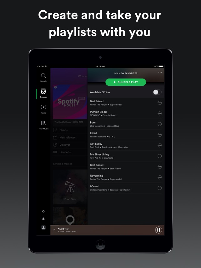 Free spotify app for iphone