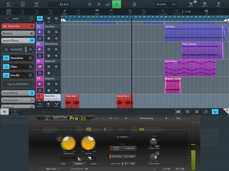 FabFilter Pro-DS screenshot-3