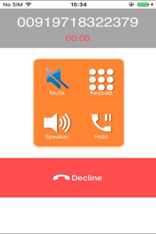 Скриншот из Adore SIP Client