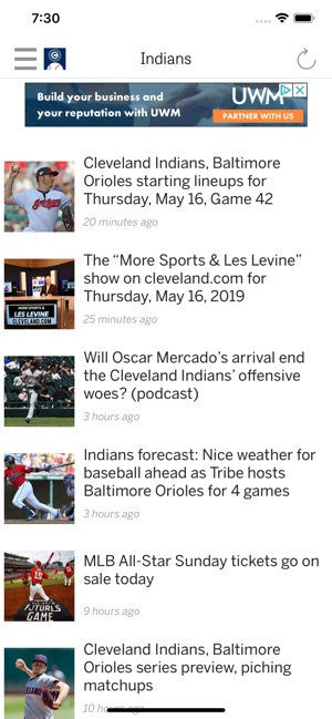 cleveland com: Indians News on the App Store