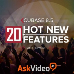 New Features For Cubase 8.5
