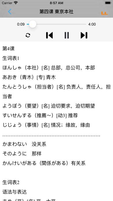 新版中日交流标准日本语中级单词のおすすめ画像2