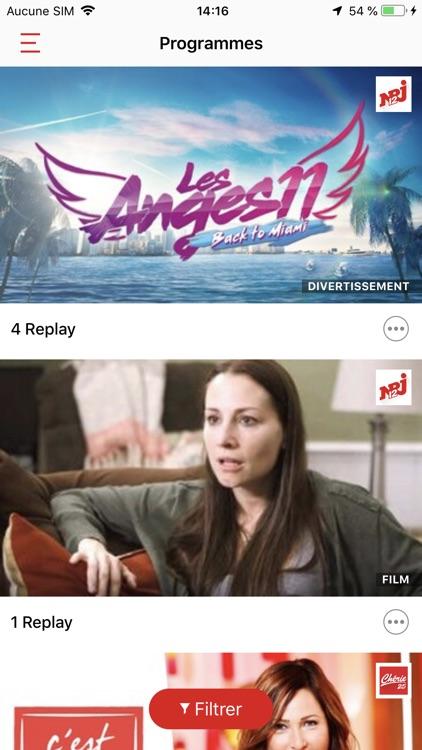 NRJ Play, en direct & replay screenshot-5