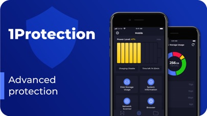 1Protection: utilities & vault Screenshot