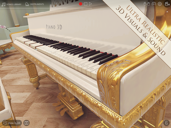 Piano 3D - Free Player Piano App with Songs & Lessons screenshot