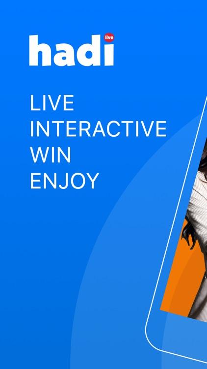 Hadi - Live Trivia Game Show screenshot-0
