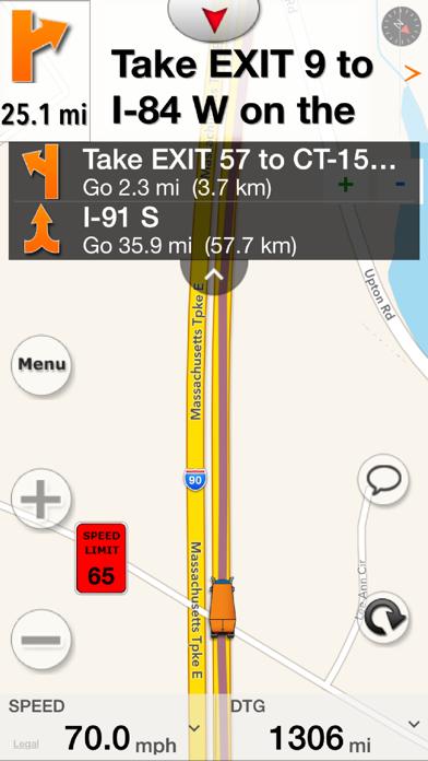 SmartTruckRoute: Truck GPS Screenshot