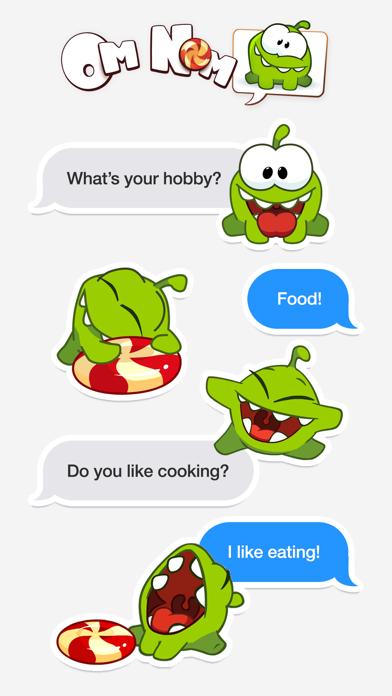 Screenshot #2 pour Om Nom Stickers