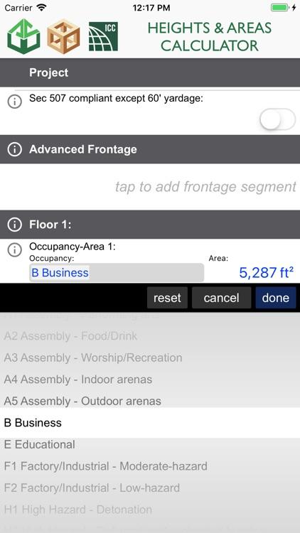 Heights and Areas Calculator screenshot-3