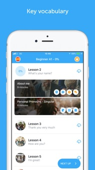 Learn Spanish with Busuu iphone images