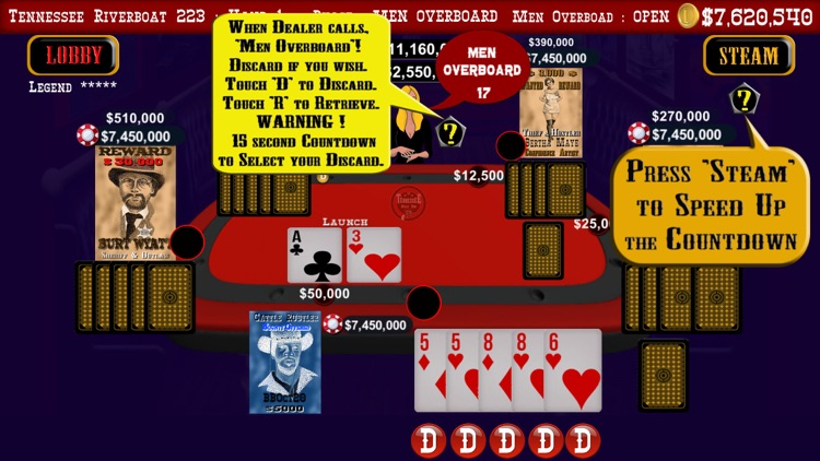 Tennessee Hold 'Em Tournaments screenshot-3