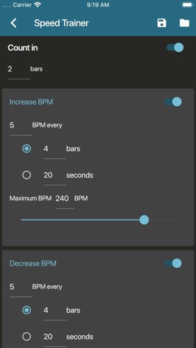 Screen Shot Metronome Beats 2